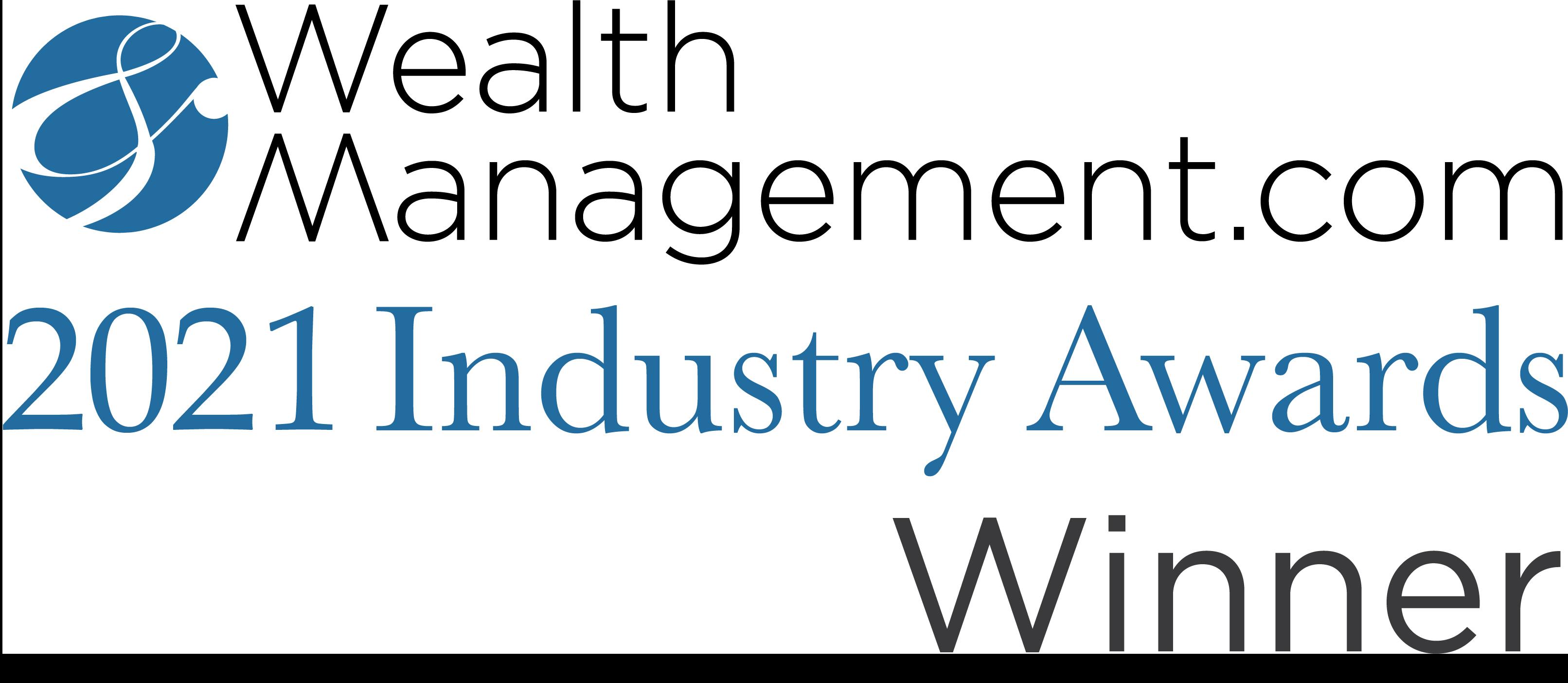 2021 Wealth Management Industry Awards Winner